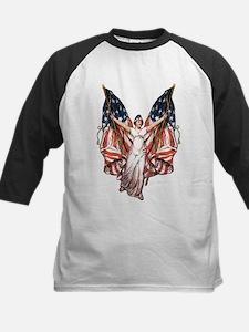 Vintage American Flag Art Tee