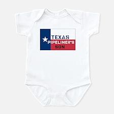 Texas Pipeliner's Son Infant Bodysuit