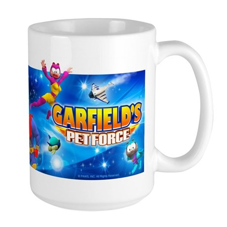 Garfield's Pet Force Large Mug