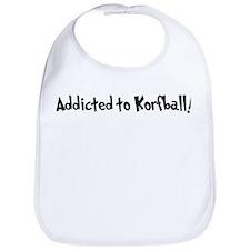 Addicted to Korfball Bib
