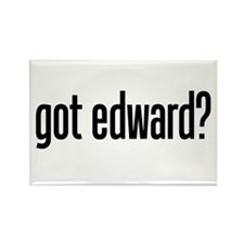 got edward? Rectangle Magnet