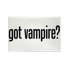 got vampire? Rectangle Magnet