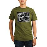 Giant Homer Pigeons Organic Men's T-Shirt (dark)