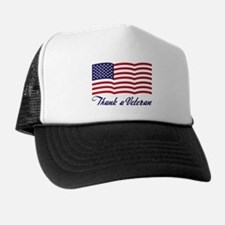 Thank A Veteran Trucker Hat