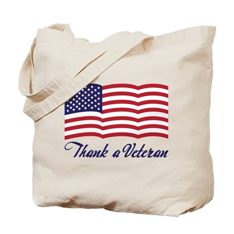 Thank A Veteran Tote Bag