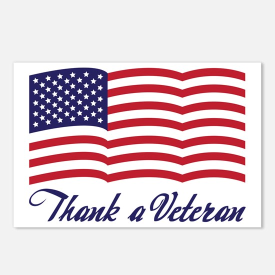 Thank A Veteran Postcards (Package of 8)