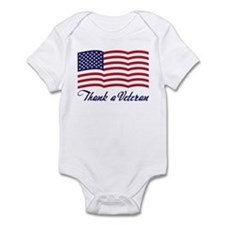 Thank A Veteran Infant Bodysuit