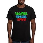 Imagine Create Write! Men's Fitted T-Shirt (dark)
