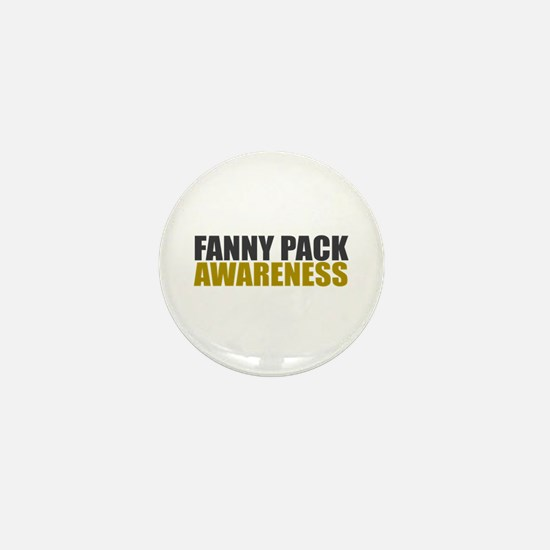 Fanny Pack Awareness Mini Button
