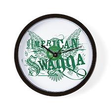 American Swagga Wall Clock