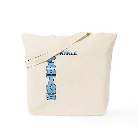 Spartans Sparkle Tote Bag
