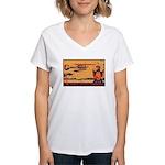 Alaska Southern Women's V-Neck T-Shirt