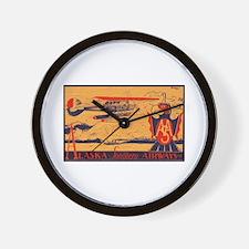 Alaska Southern Wall Clock