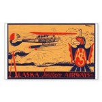 Alaska Southern Rectangle Sticker 50 pk)