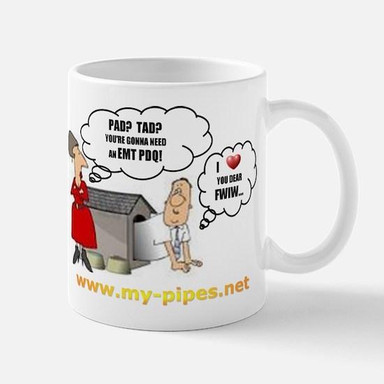 Pipe Smokers Wife Mug