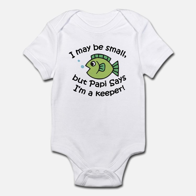 Papi Says I'm a Keeper Onesie