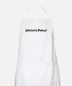 Addicted to Pottery BBQ Apron