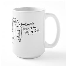 Flying House Mug