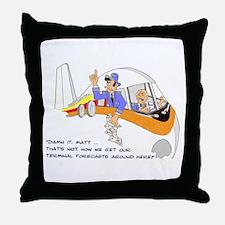 TERMINAL FORCASTS Throw Pillow