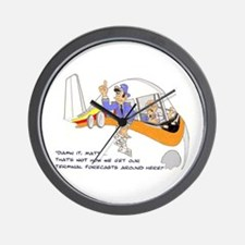 TERMINAL FORCASTS Wall Clock
