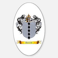 Daniels Shield Oval Decal
