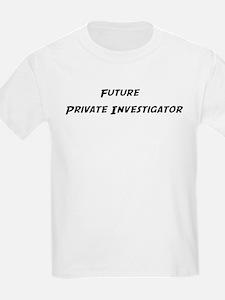 Future Private Investigator Kids T-Shirt
