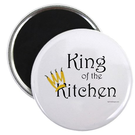 King of the Kitchen (pepper crown) Magnet 10 pack