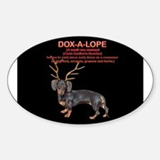Dox-A-Lope 2 Oval Decal