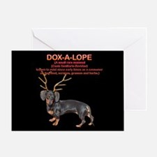 Dox-A-Lope 2 Greeting Card