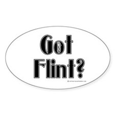 Got Flint? Oval Decal
