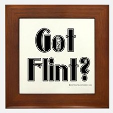 Got Flint? Framed Tile