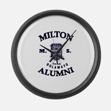 Unique Alumni Large Wall Clock