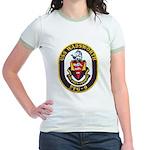 USS WADSWORTH Jr. Ringer T-Shirt