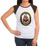 USS WADSWORTH Women's Cap Sleeve T-Shirt