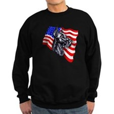 Patriot Dane Black Sweatshirt