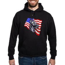 Patriot Dane Black Hoodie