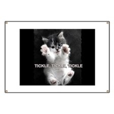 Tickle Kitty Banner