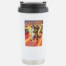 Unique Dogs of the dance Travel Mug