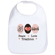 Peace Love Triathlon 140.6 Bib