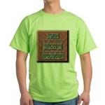Snvi, Snsvi, and Smnglof Green T-Shirt