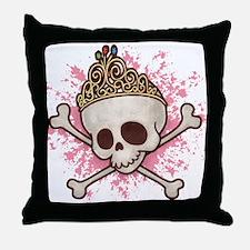 Princess Pirate 509 Throw Pillow