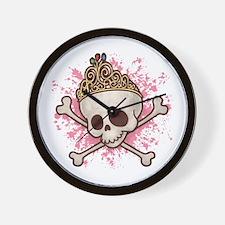 Princess Pirate 509 Wall Clock