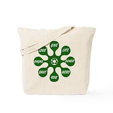 Organ Donor Splat Tote Bag