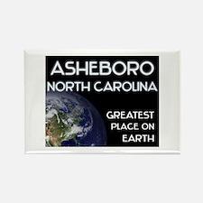 asheboro north carolina - greatest place on earth