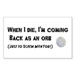 Orbs Sticker (Rectangle 10 pk)