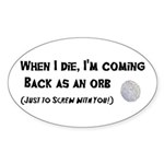 Orbs Sticker (Oval 50 pk)