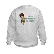 Unique Miiitary Sweatshirt