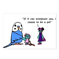 Funny Pet Proverb Comic Postcards (Package of 8)