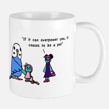 Funny Pet Proverb Comic Mug