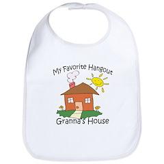 Granna's house Bib